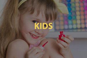 Envy Nails Kids Menu